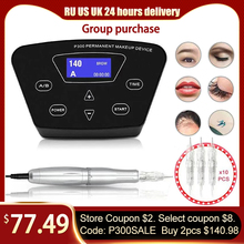 Tattoo-Machine Rotary-Pen Eyebrows Permanent Makeup Biomaser Microblading Professional