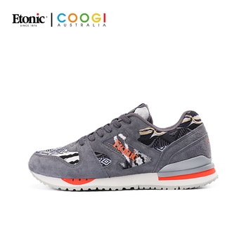 ETONIC X COOGI Sneakers for Men Breathable Light Running Shoes Air Mesh Trainers Shockproof Nonslip Sports Gym Shoes Max Size 44