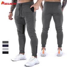 ROEGADYN Fitness pantalons de survêtement formation Jogging pantalon hommes pied bouche fermeture éclair conception Jogging hommes pantalons de sport pantalons de sport pour hommes salle de sport