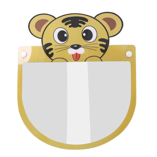 Kids Child Transparent Face Shields Cartoon Anti-fog Guard Anti-saliva Safety Protection Face Mask Mascarillas Jy6 2