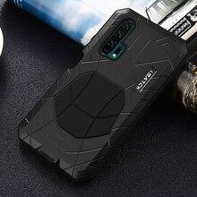 IMATCH Nhôm Kim Loại Ốp Lưng Silicone Chống Sốc Dành Cho Huawei Honor 20 Pro Giao Phối 20X P30 P20 Pro Bụi Bẩn Chống Sốc bao Da Ốp Lưng