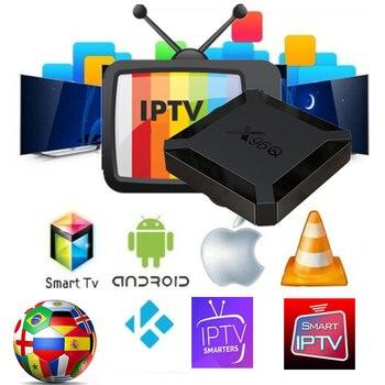 цена на The Best  Iptv Europe with Iptv Latin America Channels IPTV Deutsch Spain Arabic Nederlands UK Portugal For Android TV BOX