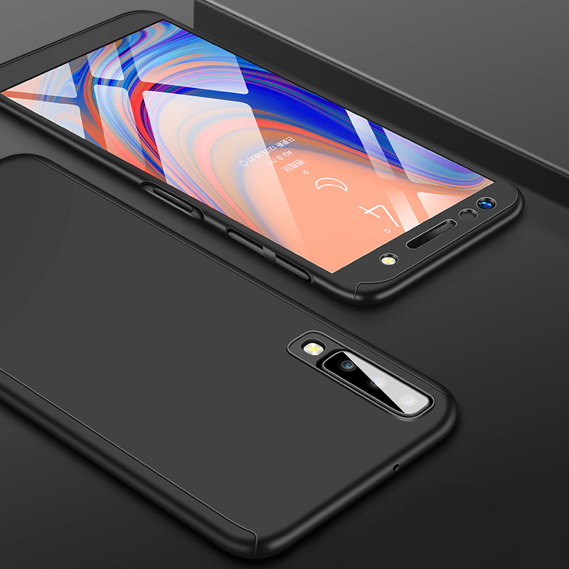 360 Full Cover Case For Samsung Galaxy A51 A71 A10 A20 A30 A40 A50 A70 A6 A8 J4 J6 Plus J8 A7 2018 J5 J7 A5 2017 Shockproof Case