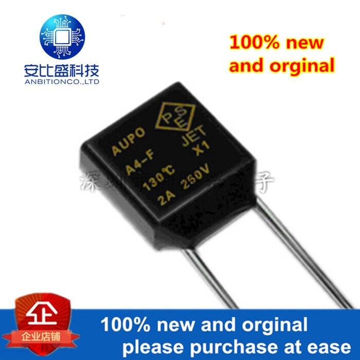 50pcs 100% New And Orginal Square Temperature Fuse A4-Ff 130 ° 2A 250V Rh130 RH130 In Stock