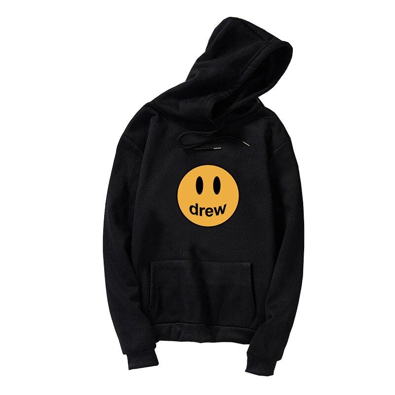 Drew Sweatshirt Drew House Justin Bieber Smiley-Face Clothing Hoodie, Hooded Sweatshirt For Justin Bieb
