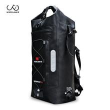 WOSAWE 30L полный плавательный мешок речной треккинг мешок кемпинг водонепроницаемый походный рюкзак седло сумки мотоцикл Задняя посылка