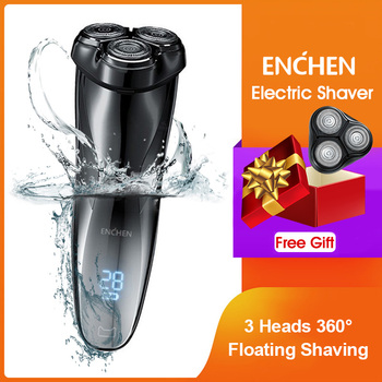 ENCHEN Blackstone3 Electric Shaver Kit For Men USB Rechargeable Travel Shaving Machine Trimmers Beard IPX7 Waterproof - discount item  56% OFF Personal Care Appliances
