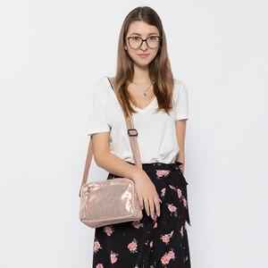 Image 3 - REALER genuine leather crossbody bags for women 2020 tassel shoulder messenger bag  ladies fashion purses and handbags design