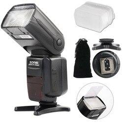 Zomei ZM 580T automatyczne ustawianie ostrości Speedlite ttl flash Speedlite szybka synchronizacja lampa błyskowa z radiem Slave do aparatów Nikon DSRL Lampy błyskowe    -