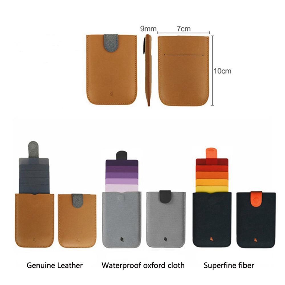 1 Piece Oxford Cloth New DAX V2 Mini Card Holder Slim Portable Paper Holder Pulled Design Wallet Color Slope 5 Cards Money Purse