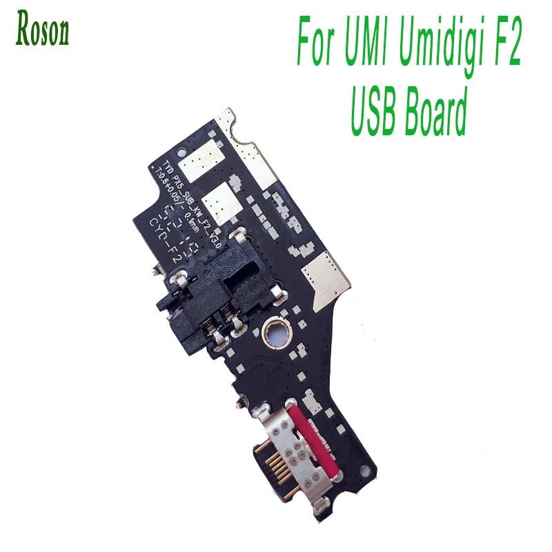 Roson For UMI Umidigi F2 USB Plug Charge Board USB Charger Plug Board Module For UMI Umidigi F2 Mobile Phone Repair parts