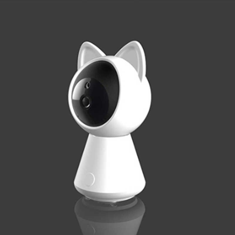 كاميرا واي فاي صغيرة AI IP P2P مراقبة عن بعد CCTV كام أمن الوطن مراقبة الطفل 360 درجة زاوية الأشعة تحت الحمراء ليلة فيسون كشف الحركة