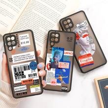 Samsung A51 dla Samsung A52 A71 A12 A32 A72 A70 przypadku przezroczysty twardy pokrowiec na telefon zderzak Galaxy A21S A42 A21 A20s A31 A30 A20 A01 rdzeń tanie tanio Vanveet CN (pochodzenie) Bumper Phone cover For Samsung A52 A71 A12 A32 A72 A70 A21S A42 A21 A20s A31 Zwykły W stylu rysunkowym