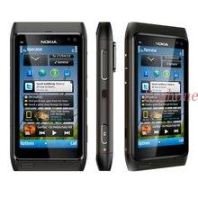 Nokia N8 odnowiony telefon komórkowy 3G WIFI GPS 12MP ekran dotykowy 3.5