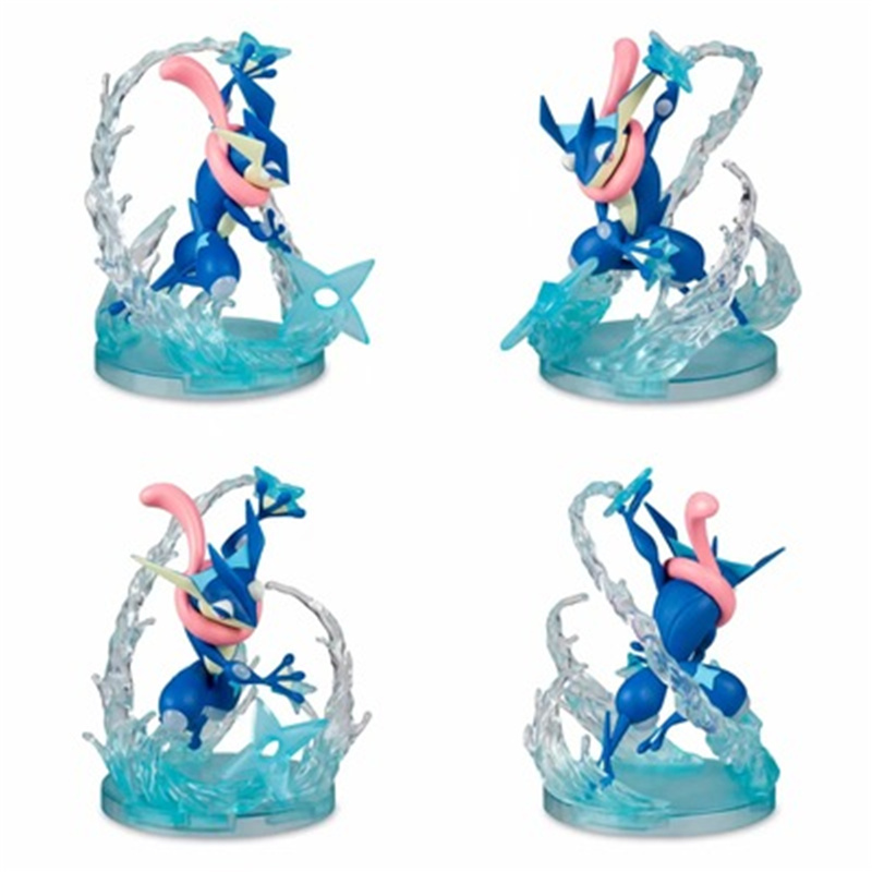 Anime Cartoon Greninja Skill Ver. PVC Anime Action Figure Collectible Figurals Model Toys Dolls Birthday Gifts New Arrival