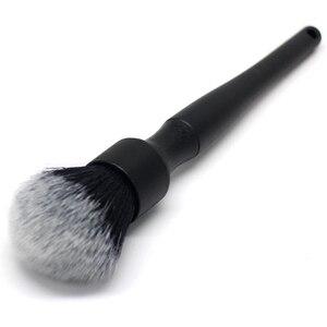 Image 2 - Super miękka szczotka samochodowa, wygodny uchwyt i czyszczenie bez zarysowania, szczotka do cieni do powiek, szczotka do kół