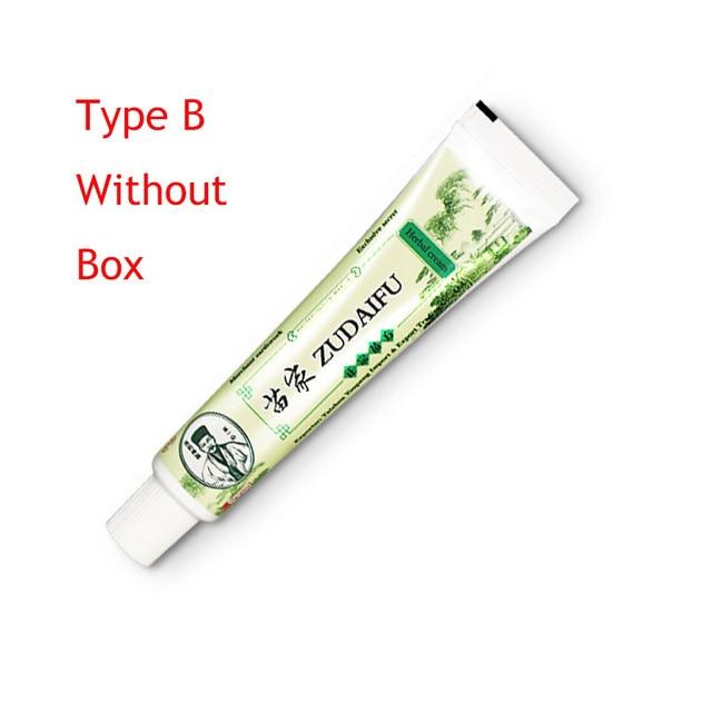 Dropshipping ZUDAIFU Skin Psoriasis Cream Dermatitis Eczematoid Eczema Ointment Treatment Psoriasis Cream Skin Care with Box 3