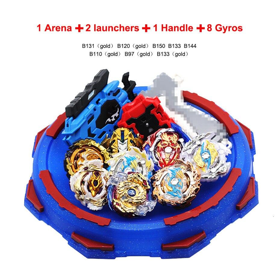 Explosion Beyblade Avec Lanceur jouets pour enfants TAKARA TOMY Beyblade Arena fusion de métal Avec Lanceur