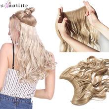 Длинные Синтетические волосы snoilite 20 дюймов термостойкие