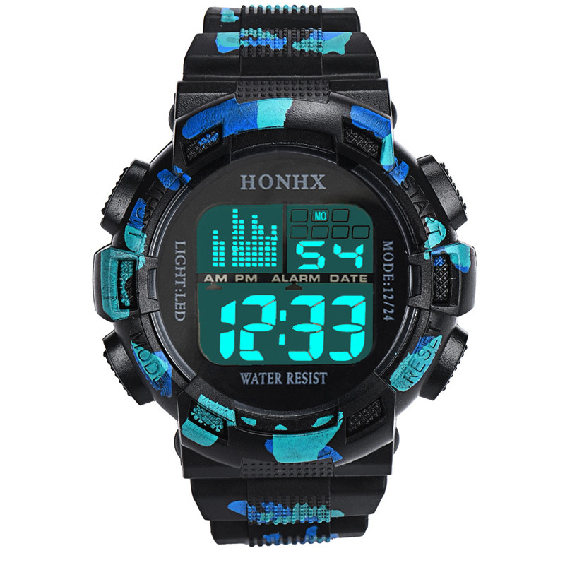 Multifunctional digital watch men outdoor running led watch sport watches digital watch relogio digital relogio montre homme-4