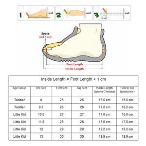 Image 5 - Apakowa filles classique en cuir Martin bottes enfants crochet et boucle mode bottines avec fermeture éclair anti dérapant haut chaussures de marche