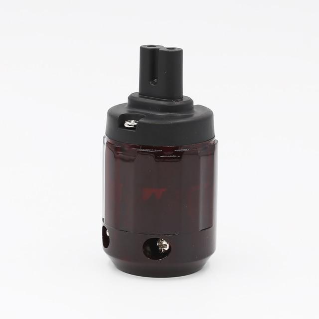 Hifi C 079 דמות 8 IEC C7 Plug אודיו כבל חשמל IEC נקבה חשמל תקע שקע מתאם מחבר