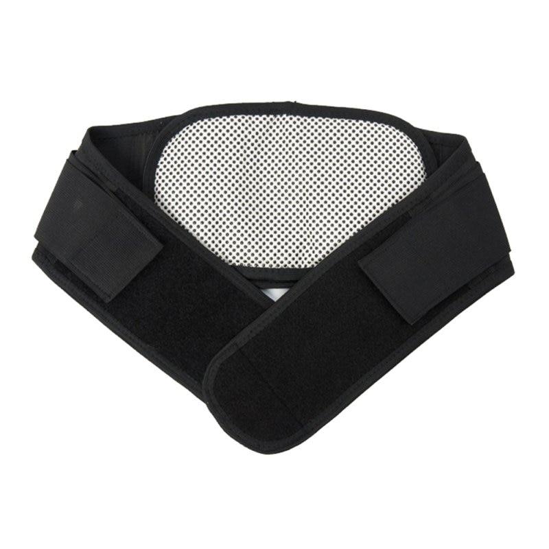 Image 4 - Cintura ajustável turmalina auto aquecimento terapia magnética  volta cinto de apoio cintura cinta lombar massagem banda cuidados de  saúdeSuportes
