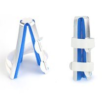 Medical Alloy Splint Finger Plywood Joint Fitted Rehabilitation Equipment Finger Orthosis Hand Orthopedic anti spasticity ball fingers apart hand far infrared impairment finger orthosis vibration massage rehabilitation exercise
