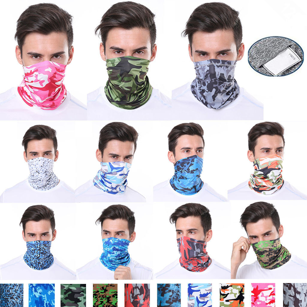 25# Bicycle Magic Scarf Outdoor Sports Riding Mask Bike Headband Breathable Seamless Bandanas Cycling Scarf Face Cover Ski Mask(China)