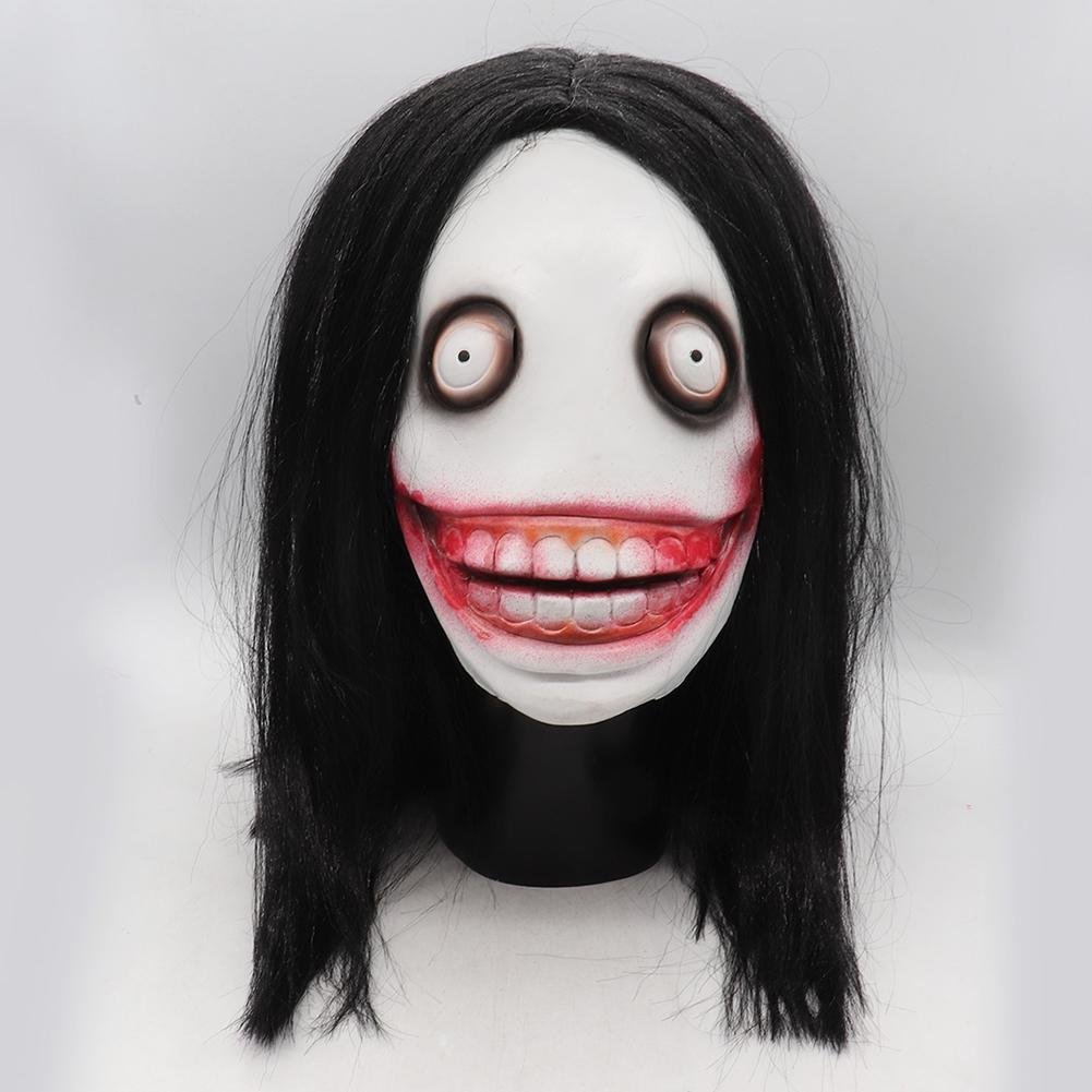 Horror Halloween Mask Killer Jeff Masks Role-play Adult Killer Masks For Christmas Cosplay Birthday Drama Games Party Accessorie image