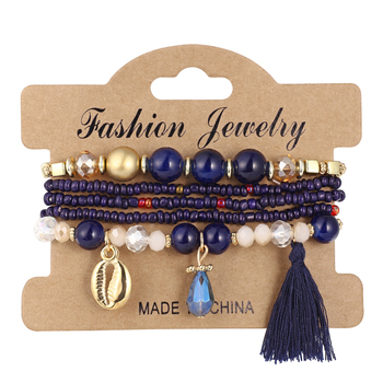 Women's Boho Style Stone Charm Bracelet Bracelets Jewelry New Arrivals Women Jewelry Metal Color: SL1514