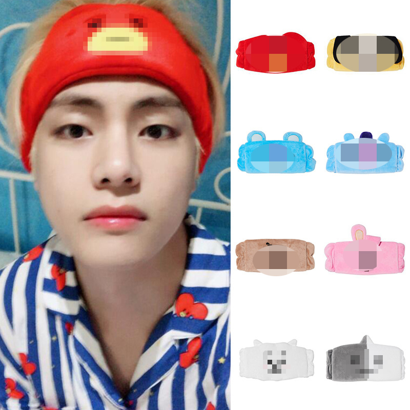 Cute Korea Stars For Fans Women Girl Suede Soft Headbands Cross Elastic Hairbands Bandanas Girls Hair Bands Styling Accessory