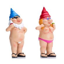 Funny Dwarf Decoration Resin Crafts Garden Toy Statue Home Decorat Ornaments