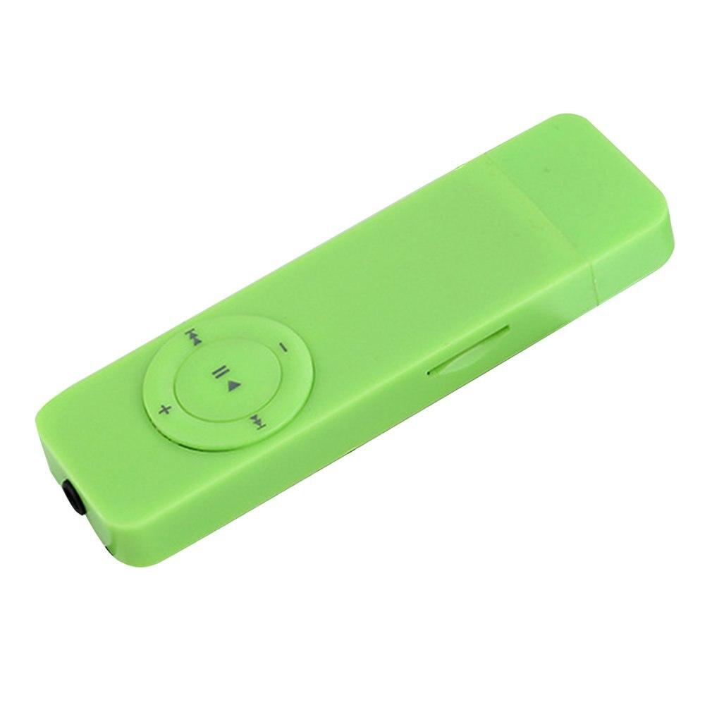 Slim Lightweight Portable USB Sport U Disk Mini Mp3 Music Player Support 32GB TF Card Best Gift