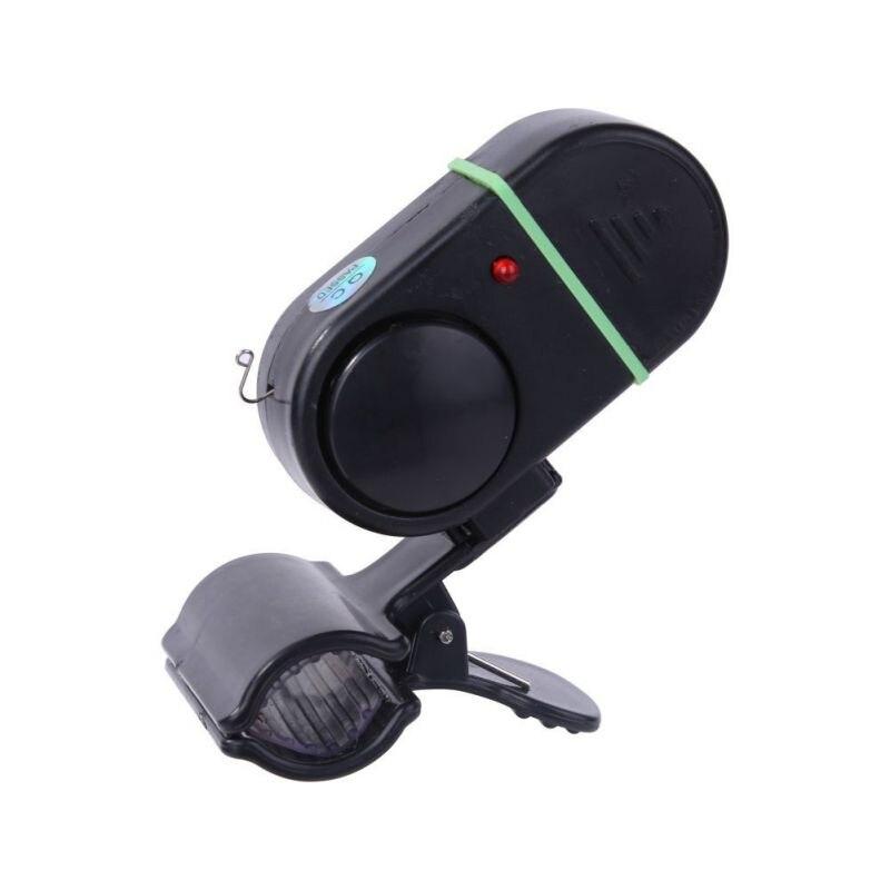 New Bell High Sensitive Fishing Alertor Sound-light Bite Alarm Portable Fishing Rod Outdoor Fishing Alarm Tools