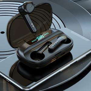 Наушники-вкладыши TWS Bluetooth наушники Беспроводной наушники С микрофоном сенсорный Управление Hi-Fi стерео гарнитура наушники спортивные Водонепроницаемый 2020 Новый
