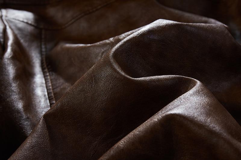 He51ed1137f8d4e9fa1c9732fdd081a53T Men Hooded Jacket And Coat Autumn Winter Warm Casual Leather Jackets PU Coats Slim Fit Outerwear Male Zipper Hoody Sportswear