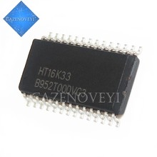 5 pcs/lot HT16K33 VK16K33 16K33 SOP-28 En Stock