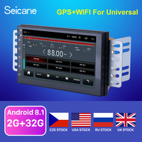 Seicane high Version RAM 2GB+ ROM 32GB Android 8.1 7 inch 2Din Universal Car Radio GPS Multimedia Unit Player For VW Nissan Kia