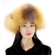 Новое поступление, зимние женские шапки-бомберы из натурального Лисьего меха, женская шапка из настоящего меха, шапка с ушками, теплая шапка