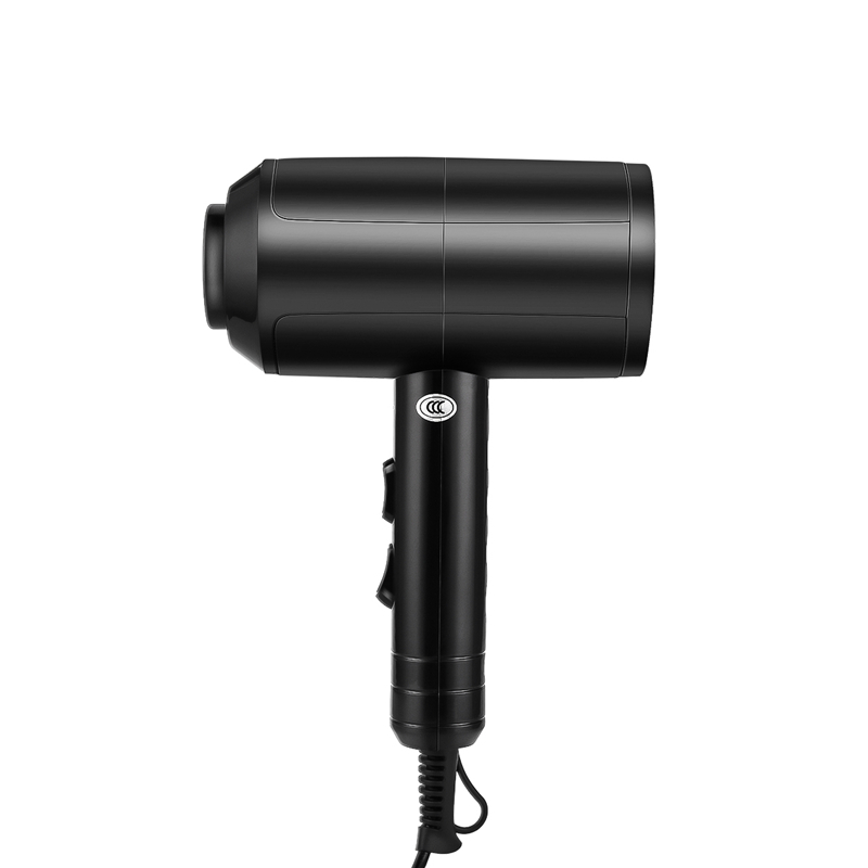 Secador de cabelo profissional, ajustável, quente e