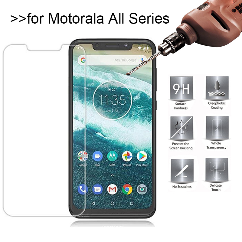 9H Tempered Glass For Motorola Moto G5S G5 E5 E4 C Plus G2 Screen Protector for Moto G7 Power E5 Play Protective Film Guard image