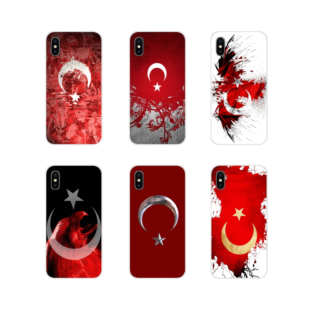 Bags Turkey Red <font><b>Flag</b></font> For <font><b>Samsung</b></font> <font><b>A10</b></font> A30 A40 A50 A60 A70 Galaxy S2 Note 2 3 Grand Core Prime Accessories Phone Cases Covers image