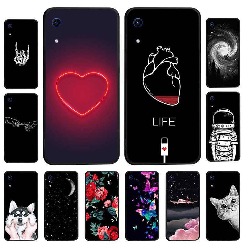 Silicone Case For Huawei Y9 2019 Soft TPU Back Cover For Huawei Y5 Lite 2017 Y3 II Y6 Y7 Pro 2018 Honor 7S 7A 8A Case Cover Bags