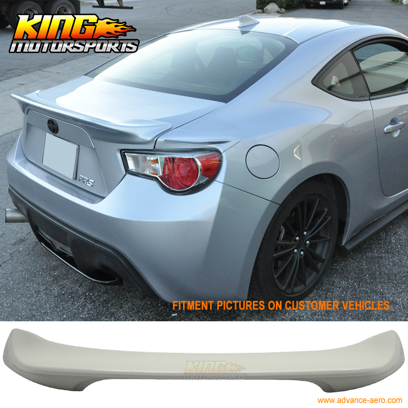 For 13 16 Scion FRS BRZ Painted Whiteout Satin White Trunk Spoiler TR #37J-in Spoilers & Wings from Automobiles & Motorcycles on King Motorsports