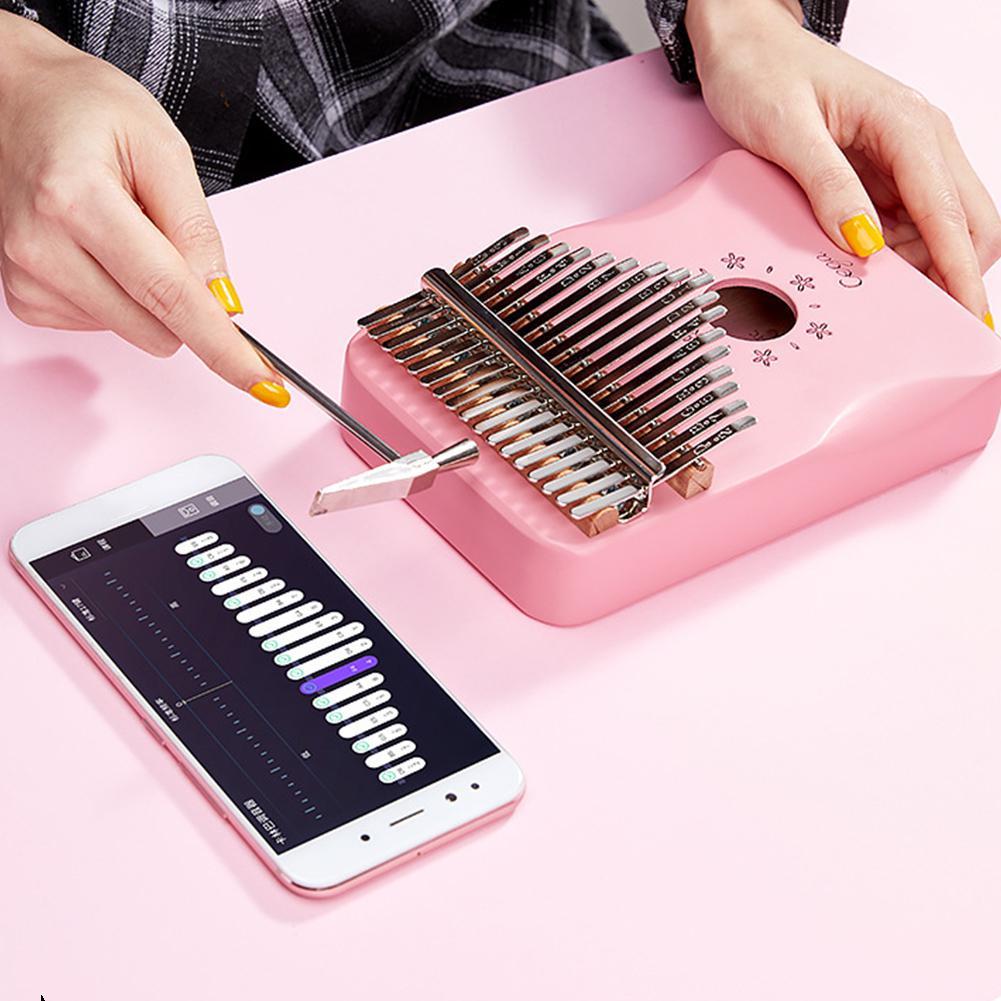 New Arrival 17 Keys Kalimba Portable Thumb Piano High-Quality Wood Mahogany Body Mbira Keyboard Finger Musical Instruments