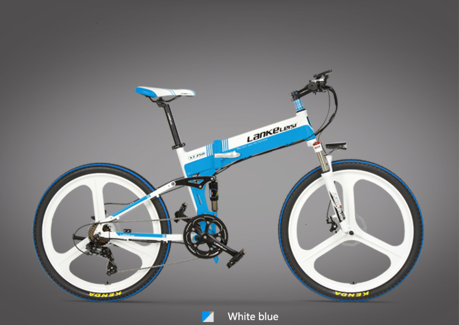 European XT750-S level quality Lankeleisi 26 inch 400W motor  Electric Mountain Bike foldable with 1