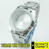 10Bar 330feet 100m(10ATM) Water-resistant 39mm Datejust Style Watch Case Fit ETA2836 Miyota8215 Seagull2836 Mov't