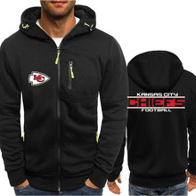 Rugby Clothes Nfl Green Down Male Sweater / Shirt Extra Coar