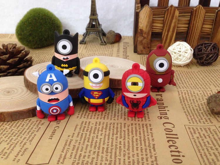 Cartoon Cute Style Usb Flash Drive Usb 2.0 4GB 8GB 16GB 32GB 64GB 128GB 256GB Pendrive Gift U Disk